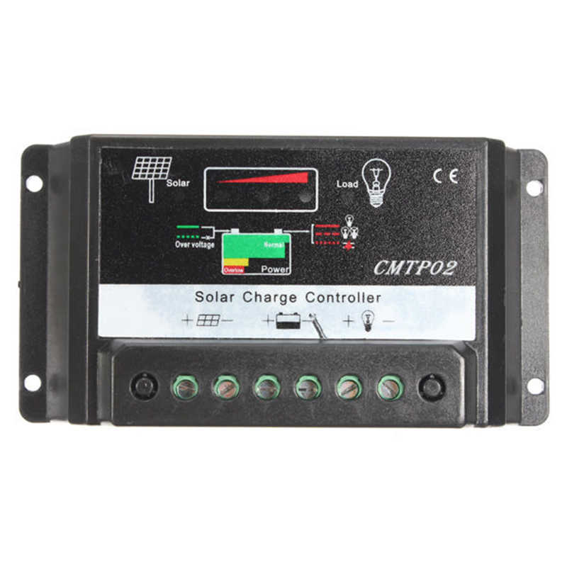 Lixf Panas 30A MPPT Solar Panel Regulator Charge Controller 12V/24V Auto
