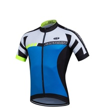 2019  Blue - red white only Cycling Jersey Summer Sportswear Bicicleta cycling Clothing Short Sleeves Ciclismo Hombre
