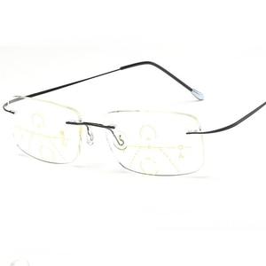 Image 5 - Belmon Multi Focale Progressieve Leesbril Mannen Vrouwen Randloze Verziend Unisex Dioptrie Bril + 1.0 + 1.5 + 2.0 + 2.5 + 3.0 RS790