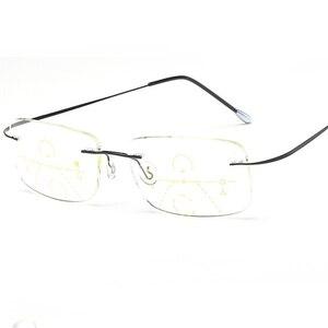 Image 5 - Belmon gafas de lectura graduales multifocales para hombre y mujer, lentes Unisex para presbicia sin montura, gafas de dioptrías + 1,0 + 1,5 + 2,0 + 2,5 + 3,0 RS790