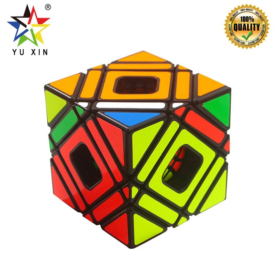 2019 YUXIN Multi-SKEW 3x3x3 Magique Cube Concurrence Dur Niveau Puzzle Vitesse Cube Twist jouets fidget pour Enfants Cadeaux Cubo Magico