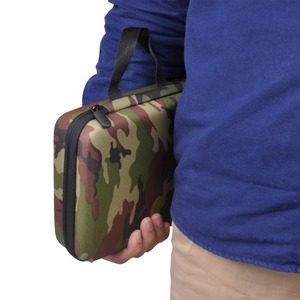 Image 4 - Baofeng UV 5R Walkie Talkie Camouflage Handbag UV 5R Radio Nylon Protect Portable Storage Case for 5RE 5RA Radio Accessories