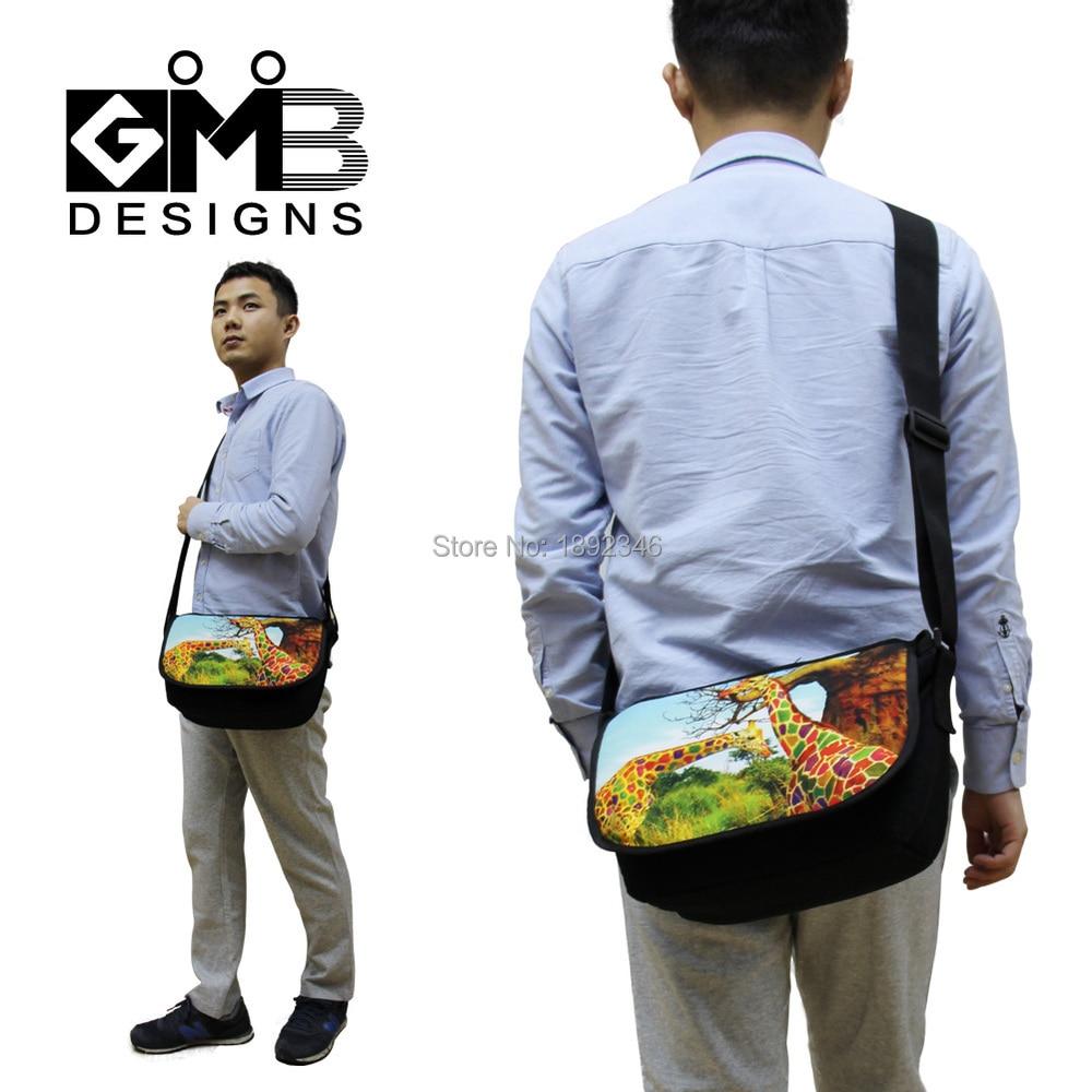 Mens lienzo bolsas de mensajero hombro hombro bolsa de mensajero para - Bolsos - foto 6