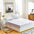 Dfh todo tamaño colchón impermeable más barato 100% Terry impermeable protector de colchón para la cama colchón y anti- ácaro