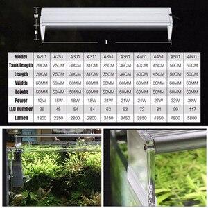 Image 5 - Chihiros A Series Aquarum LED Light Fish Tank Aquatic Plant Grow Lighting Waterproof Bright Clip on Lamps 20 50cm AC100 240 Volt