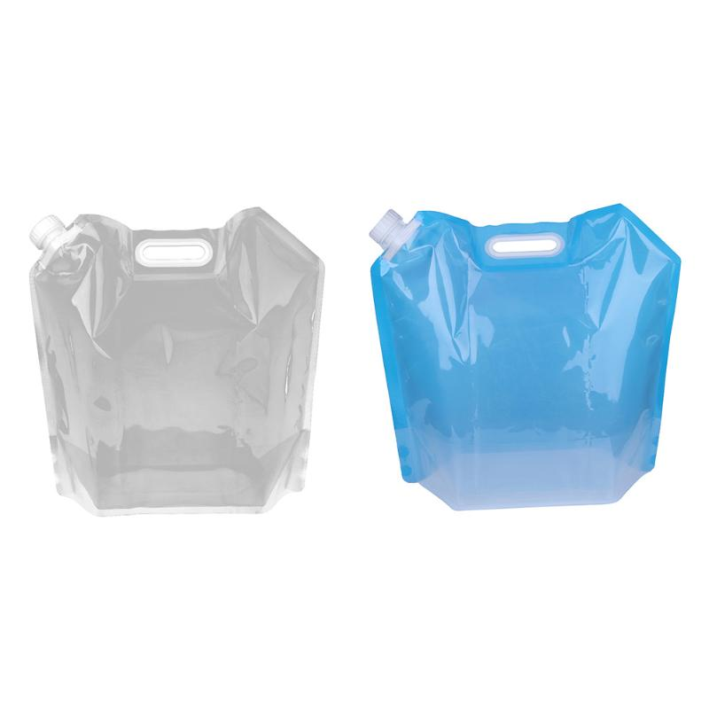 10L Large Capacity Folding Collapsible Drinking Water Carrier Bag Portable Foldable Water Bags for Outdoor Camping Hiking