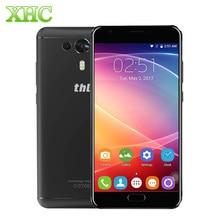 THL Caballero 1 4G Teléfono Móvil 3G RAM 32G ROM Dual volver Cámaras de Huellas Digitales 5.5 pulgadas Android 7.0 MTK6750T Octa Core 13MP Smartphone