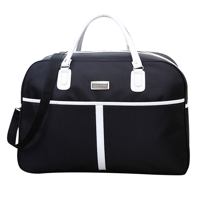 Women Travel Bags 2017 New Fashion Oxford Waterproof Large Capacity Luggage Duffle Bag Casual Travel Bags Size 52*34*22cm  X117