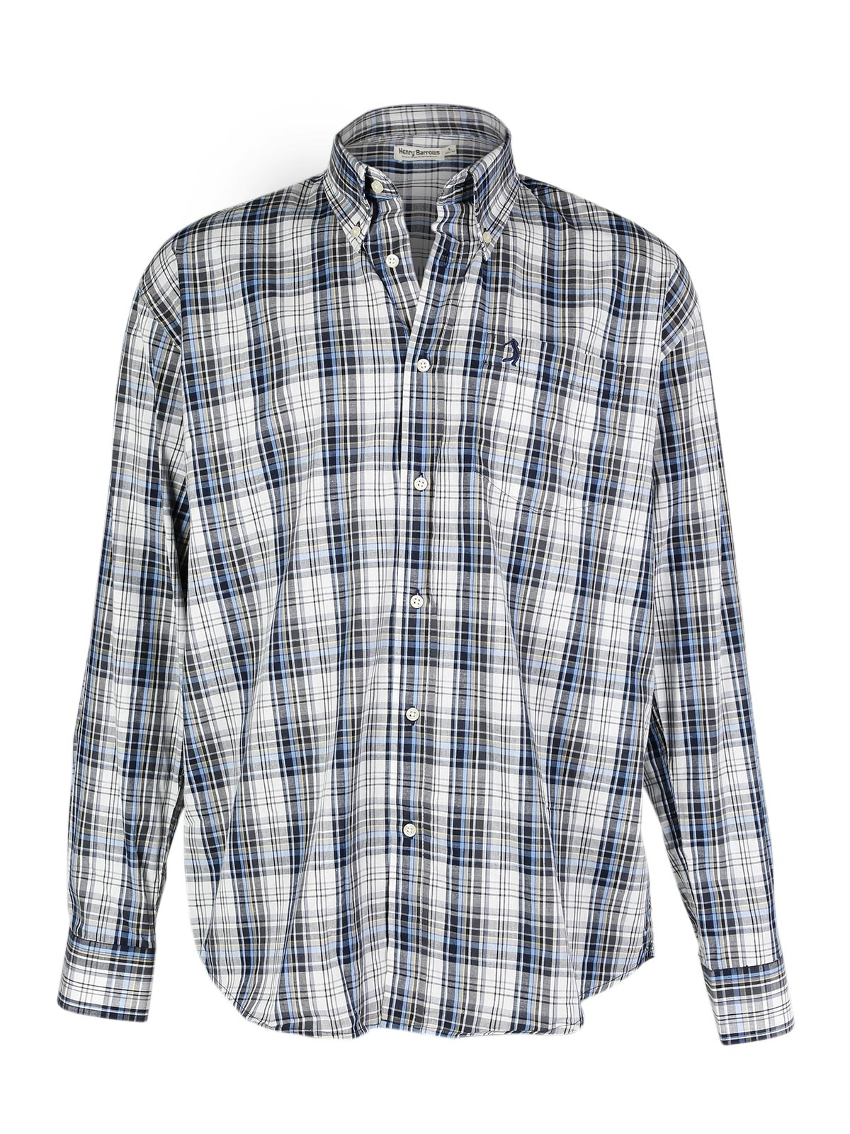 Pure Cotton Plaid Shirt