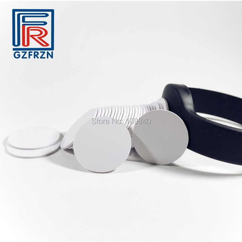 10pcs 13.56MHz RFID token Tag PVC Coin Card with FM1108(Compatible MF1 S50) chip for access control dia 30mm rfid pvc token with s50 chip hf iso14443a proximity rfid tag 100pcs lot