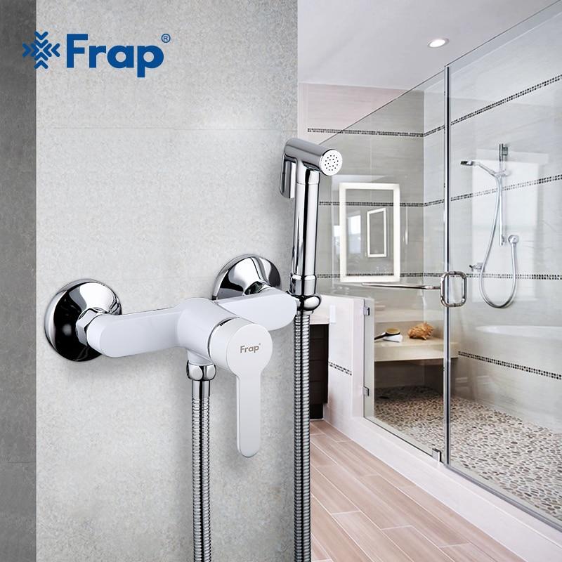 Frap Bidets Brass Bathroom Shower Tap Bidet Toilet Sprayer Bidet Washer Mixer Muslim Shower Ducha Higienica