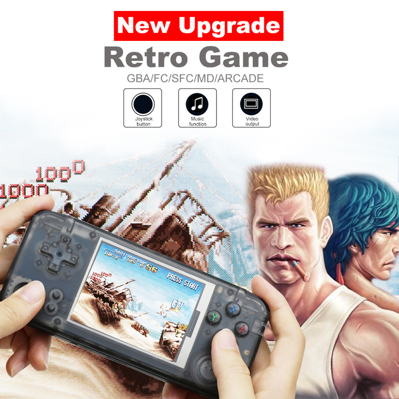 3.0 Inch Handheld Game Console Built in 3000 Classic Games 16GB Retro Console Support For NEOGEO/GBC/FC/CP1/CP2/GB/GBA-in Handheld Game Players from Consumer Electronics    1