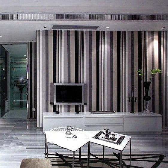 comprar papel de pared de rayas verticales de tela no tejida del papel pintado pegatinas cocina wallpaers japons wallpaper dp