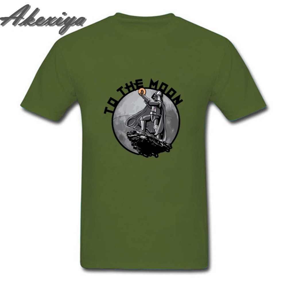 Биткоин Звездные войны на Луну Мужская футболка черный металл супернатуральный Жемчуг дракона футболка рубашка хипстер пилоты короткий рукав twenty one
