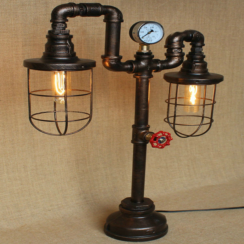 Water Pipe Table Lamps 11