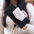 Marca de lujo Diseñador de Las Mujeres Monedero Mujer Monederos Marca Nuevas Señoras de La Manera Bolso de Gran Capacidad Del Embrague