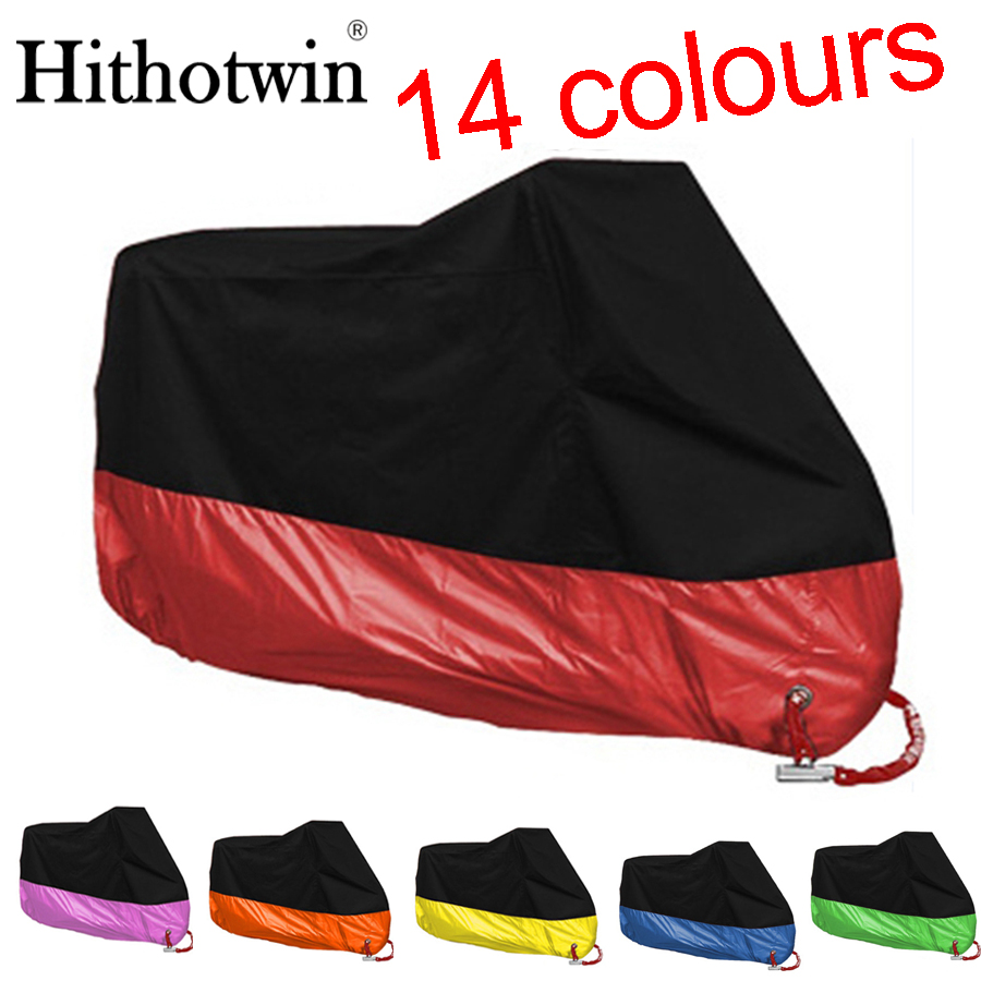 14 Colors M L Xl 2xl 3xl 4xl Universal Outdoor Uv Protector For Scooter Waterproof Bike Rain Dustproof Motorcycle Cover