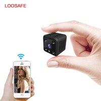 LOOSAFE Mini IP Camera Smart 720P HD Night Vision Small Camcorder Micro Onvif P2P Phone Remote Video Surveillance PTZ Camera