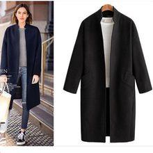 2018 Nuove Donne misto Cashmere bozzolo cappotto femminile cappotto di  autunno della molla di lana cappotto d450186adf1