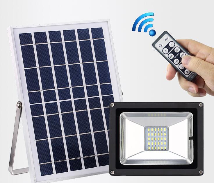 45LED2835 Solar floodlight led street lamp courtyard solar led lamps 1pcs/lot