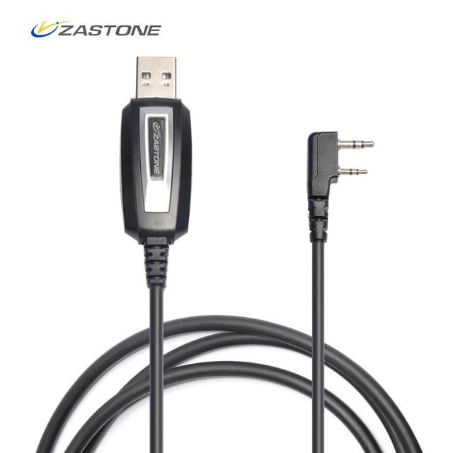 Zastone TK porta Universal USB Cabo de Programação para Baofeng uv5r 888 s Zastone ZT-889G X6 V77 V8 ZT-501 CB Rádio walkie Talkie