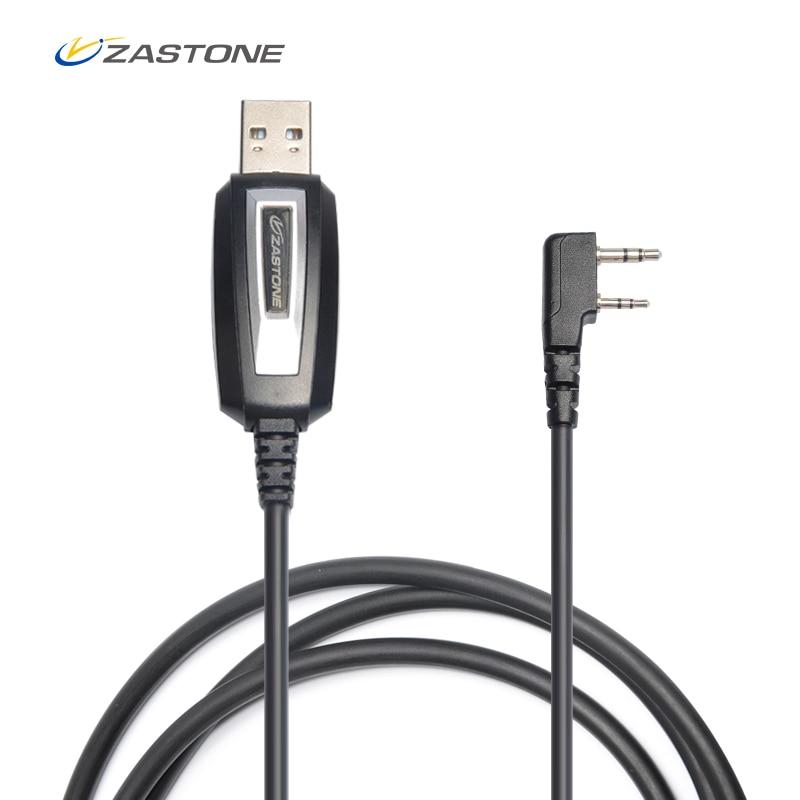 Zastone Universal USB Programming Cable TK Port For Baofeng 888s Uv5r Zastone ZT-889G X6 V77 V8 ZT-501 CB Radio Walkie Talkie