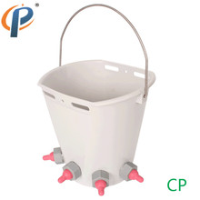 8Liter Food Grade PP(Propene Polymer) Feeding Milk/Water Bucket for Lamb, Young Sheep