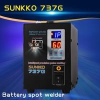 SUNKKO737G dual die battery spot welding machine double pulse double display nickel welding machine