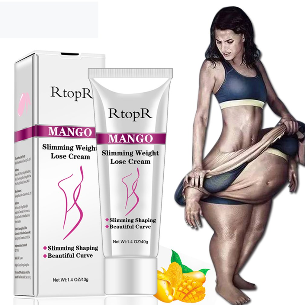 Mango Women Body Slimming Cream Women Fast Fat Burning Weight Loss Cream Slimming Thin Waist Belly Cream