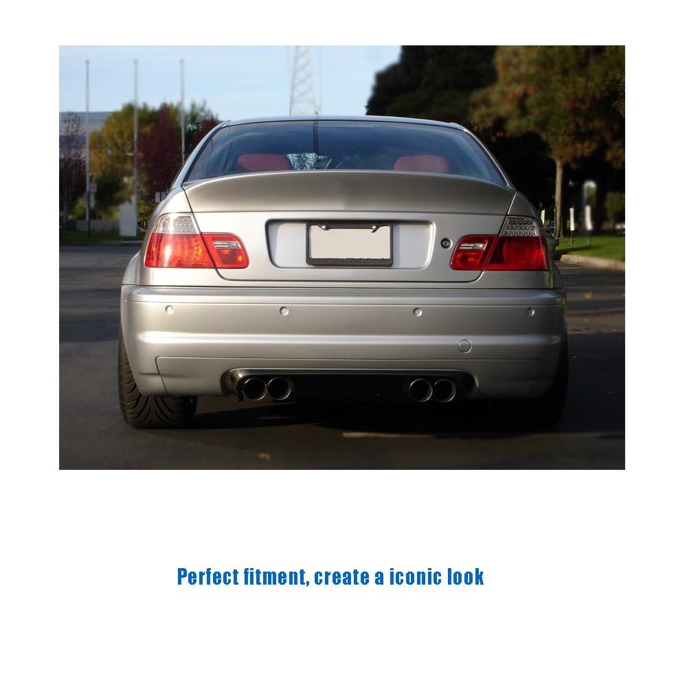 CT-for E46 M3 rear bumper diffuser lip carbon