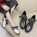 2017 Fashion Women Glitter Shoes Sweet Flat Shoes Women Pointed Leisure Flat Shoes Walking Shoes Silver/Black Size 35-40