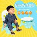 Envío libre tranier portable orinal bebé inodoro orinal bebé de plástico niños de esfínteres para niñas y niños