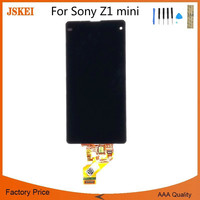 High Quality for Sony Xperia Z1 Compact LCD Display Touch Screen Digitizer Assembly Fast Delivery 10pcs/lot 4.3 Inch