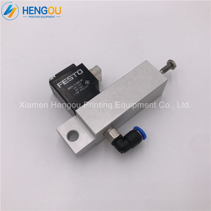 1 piece free shipping high quality FESTO cylinder 61.184.1131 Solenoid valve SM52 SM74 PM74 printing machine spare parts 2 pieces festo cylinder valve for pm74 sm74 heidelberg 61 184 1131