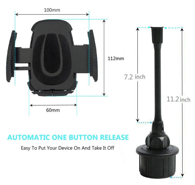 Xmxczkj accesorios del teléfono móvil sostenedor del teléfono del coche ajustabl