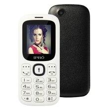Original IPRO I3185 Dual SIM Entsperrt Handys GSM SC6531DA 1,77 Zoll Bluetooth Telefon Englisch Spainish Russische Sprache