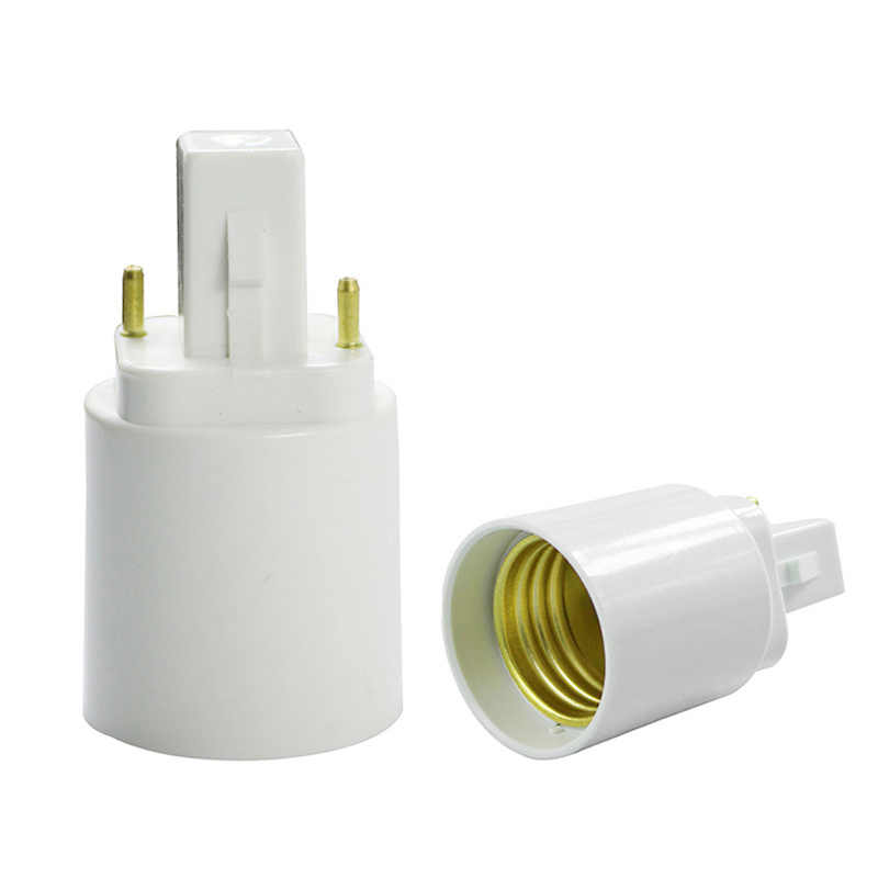 1pc Durable LED Bulb Base Adapter E12 E14 E17 E40 B15 G24 GU24 to E27 E27 to E27 9mm Extension Socket Converter Connector