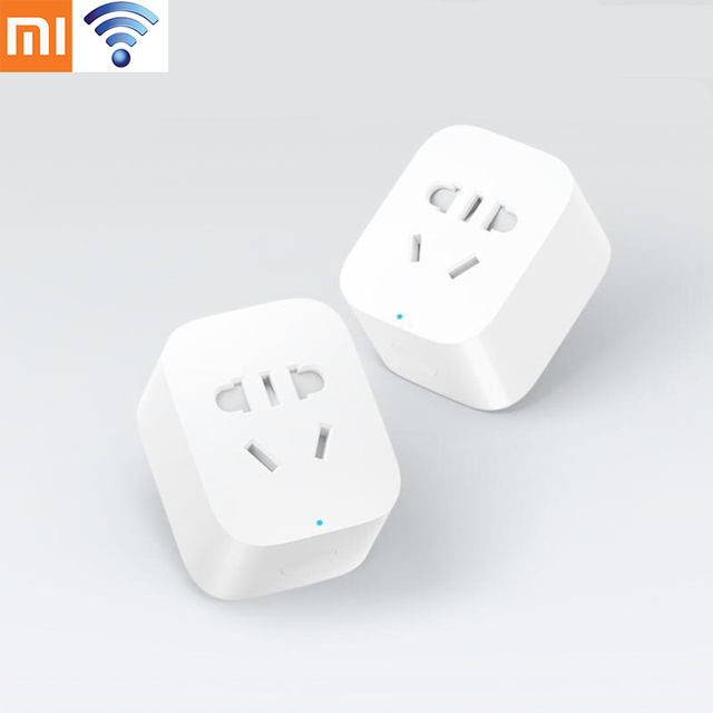 Original Xiaomi Smart Socket Plug Bacic WiFi Wireless Remote EU US AU Socket Adaptor Power on and off with phone