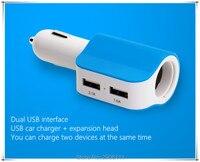 Accesorios dual USB car cargador universal rápido para iPhone 7 Samsung xiaomi para bmw e46 E90 e39 F30 F10 E36 e60 X5 e53 F20 e34