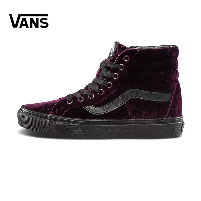 Original New Arrival Vans Men's & Women's Classic Sk8-Hi Skateboarding Shoes Sneakers Canvas Comfortable VN0A2XSBF17