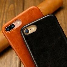 Genuine Leather Case for iPhone 8, 7 & 8, 7 Plus