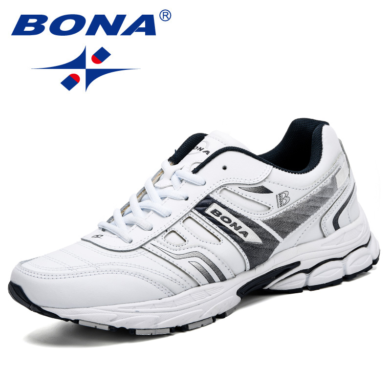 BONA Fashion Men Shoes Casual Split Leather Comfortable Breathable Spring And Autumn Trendy High Quality Men