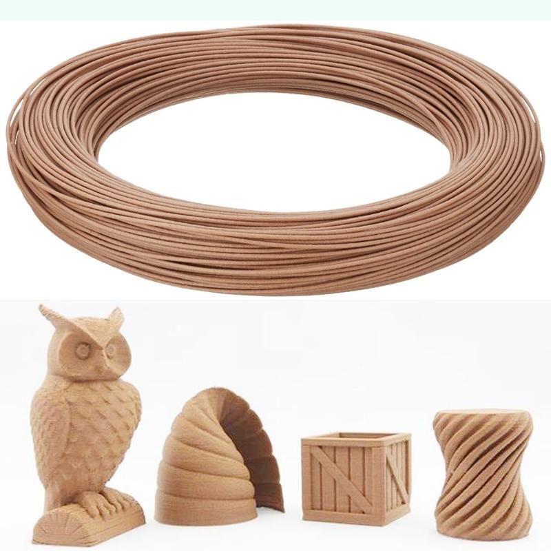 20% Real Wood Powder 1.75mm Wood Filament 3d Printer Wood