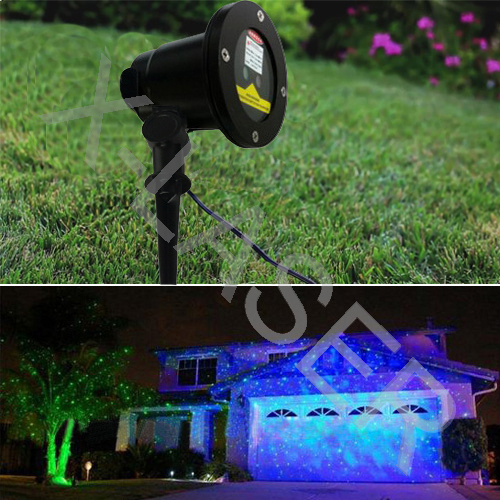 Wholesale New Cheap Green And Blue Moving Garden Laser For Outdoor Christmas  Light Decorate House Park
