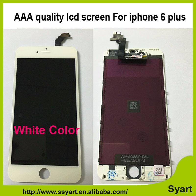 Fast DHL shipping 5pcs/lot Best Price LCD Display Screen Digitizer Assembly 5.5 inch No Dead Pixel Grade AAA For iPhone 6 plus