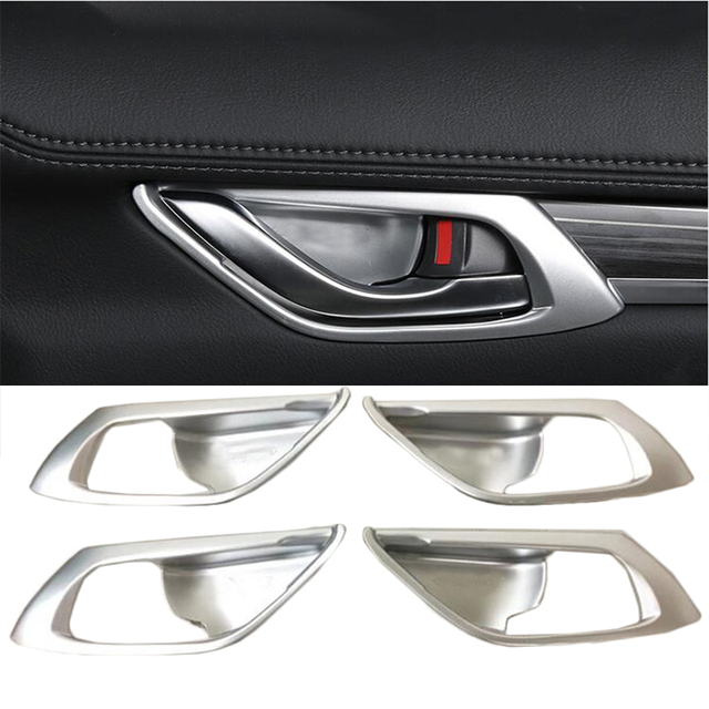 Car Styling Accessories For Mazda CX 5 CX5 2017 2018 ABS Chrome ...