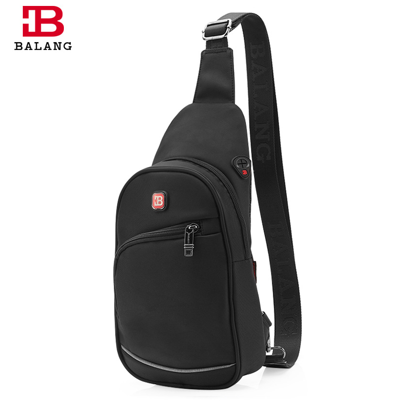 ФОТО BALANG Brand Studends Crossbody Bags for Teenagers Boys Casual Crossbody Bags Travel Waterproof Messenger Bags