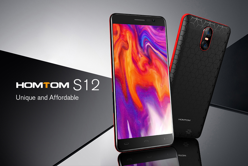 Original HOMTOM S12 5.0 18:9 Display MT6580 Quad Core Android 6.0 Smartphone Dual Back Cameras 1GB RAM 8GB ROM 3G Mobile PhoneOriginal HOMTOM S12 5.0 18:9 Display MT6580 Quad Core Android 6.0 Smartphone Dual Back Cameras 1GB RAM 8GB ROM 3G Mobile Phone