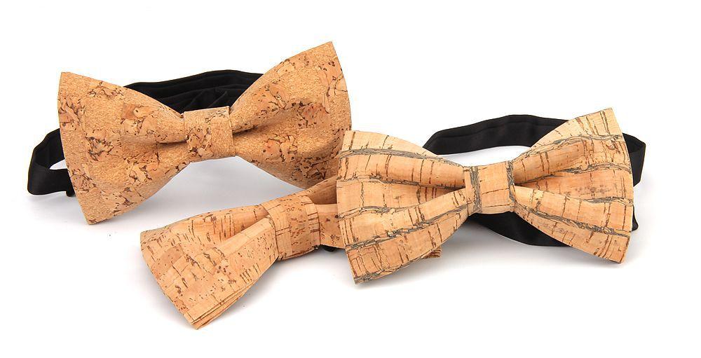 New Handmade Wooden Cork Bamboo Bow Tie Bowtie Men's Cravat 37