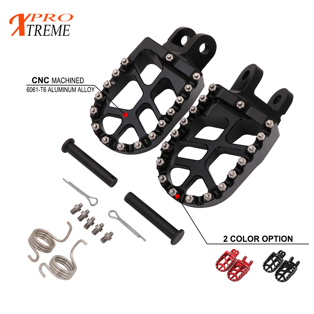 Motorcycle CNC Foot Peg Footrests Foot Rest Footpegs For Honda CRF1000L CRF 1000 L DTC  2016-2017